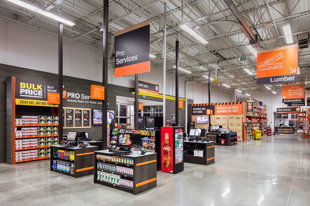 Home Depot discount promo products