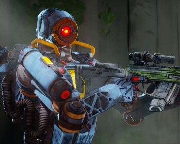 Playing Apex Legends